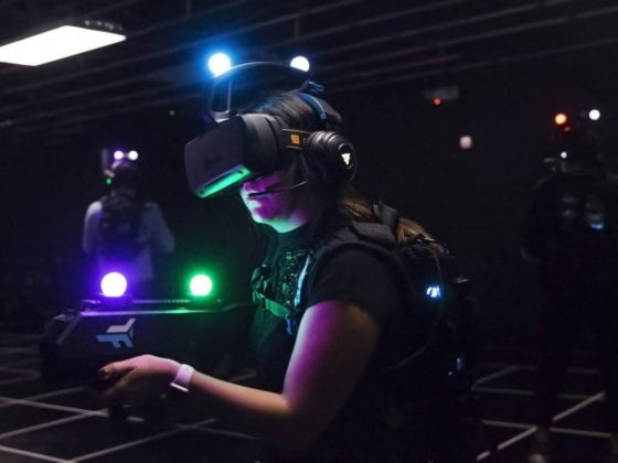Vegas' first 'free roam' VR arena opens at MGM Grand