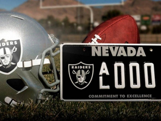 Raiders Nevada license plate to go on sale next week