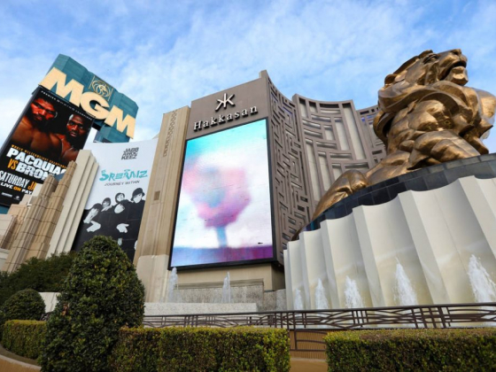 MGM Grand planning revamp of Las Vegas Strip front
