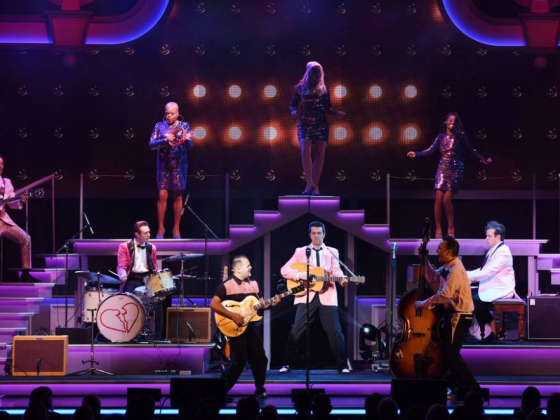 Elvis (yes, that is him) lives on in 'Heartbreak Hotel' at Harrah's