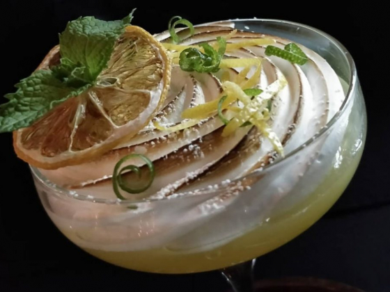 Partage adds a gourmet twist to the lemon sour