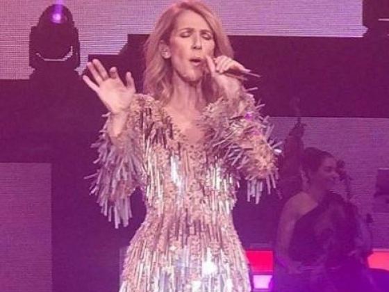 Céline Dion returns to the Colosseum
