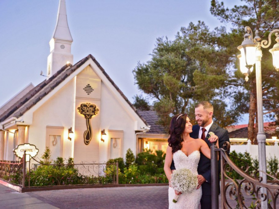 Chapel of the Flowers all-inclusive wedding eliminates hassle