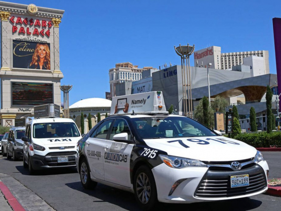 Flat-rate fares for taxi rides from McCarran to Strip take effect