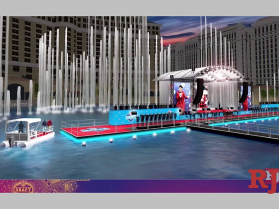 2020 NFL Draft plans include Bellagio fountains, Caesars Forum