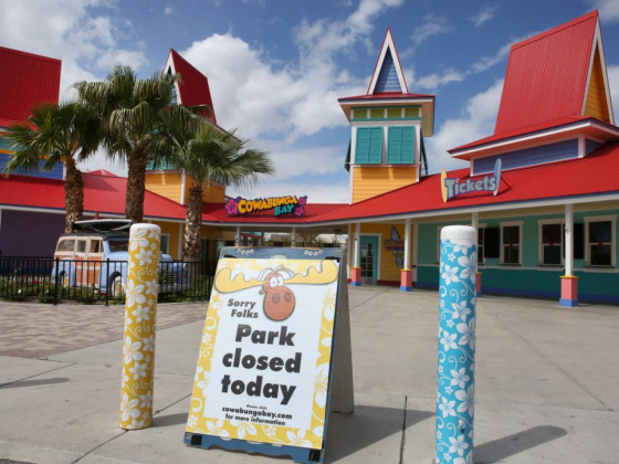 Pool's out? Las Vegas pools, water parks await OK to open
