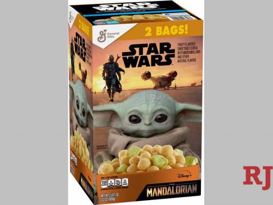 Baby Yoda cereal finally on Southern Nevada store shelves