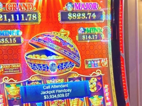Slot player hits $4M jackpot on Las Vegas Strip