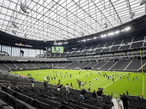 Allegiant Stadium set to be first sports venue to open cashless