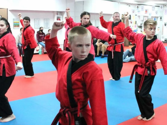 CD Young's Karate helps students grow physically and mentally